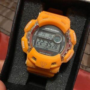Diamond Shock watch by King Master